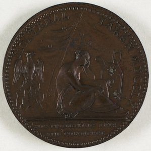 Bronze medal commemorating the capture of Montreal, 1760