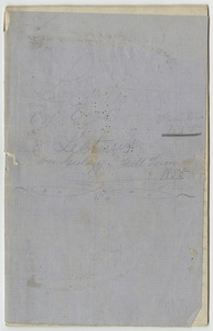 """Unidentified student's notes, """"Lectures on Geology,"""" 1855 September to 1855 November"""