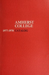 Amherst College Catalog 1977/1978