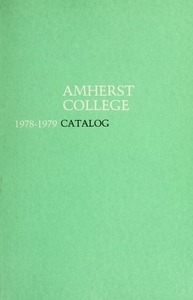 Amherst College Catalog 1978/1979