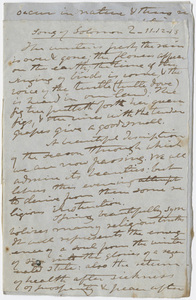 Edward Hitchcock sermon notes, 1855 May 24
