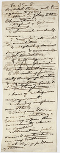 Edward Hitchcock sermon notes, 1850 April 14