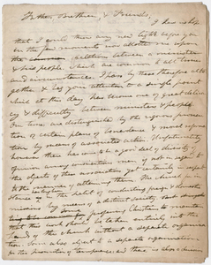 Edward Hitchcock ordination sermon for David Eastman, 1840 February 12