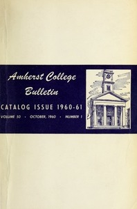 Amherst College Catalog 1960/1961