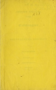 Amherst College Catalog 1831/1832