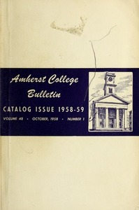 Amherst College Catalog 1958/1959