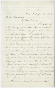 Emily Jessup letter to three Hitchcock sisters, 1863 June 4