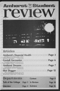 Amherst Student Review, 1975 March 17