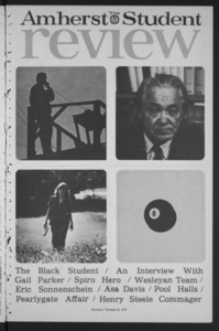 Amherst Student Review, 1973 October 25
