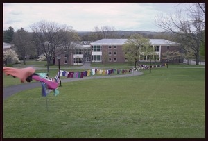 Photographs of the Clothesline Project, 2002 April