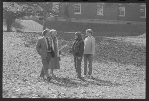 Photographs of Parents Weekend, 1982 October 29