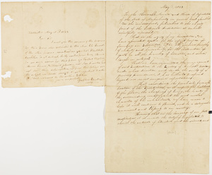 Josephus Wheaton letter to Zephaniah Swift Moore, 1823 May 18