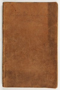 Amherst College financial subscription notebook, 1839-1845