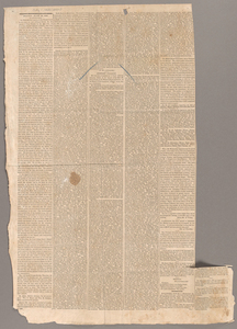 Article on the proposed incorporation of Amherst College, 1824 July 1