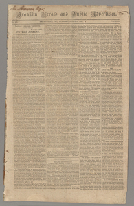 Franklin herald and public advertiser, 1823 March 18