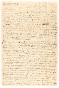 Sidney Brooks letter to Obed Brooks, Jr., 1839 July 10