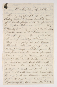 Sidney Brooks (AC 1841) Papers