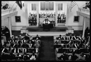 Photographs of Convocation, 1966 September 13