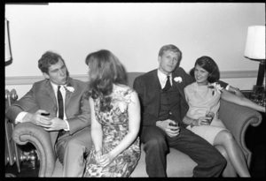 Photographs of Prom and Alpha Delta Phi cocktail party, 1966 May 7