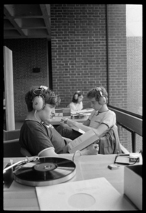 Photographs of students on campus, 1968 May 21 and May 22