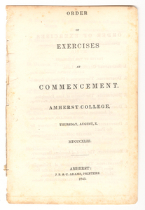 Amherst College Commencement Collection