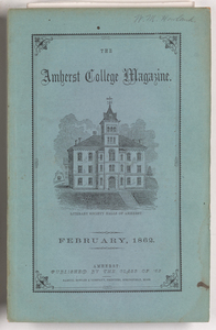 The Amherst College magazine, 1862 February