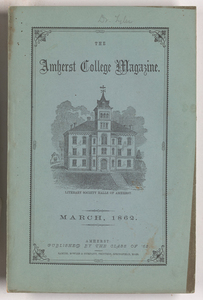 The Amherst College magazine, 1862 March
