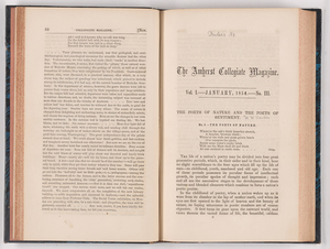 The Amherst collegiate magazine, 1854 January