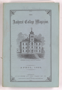 The Amherst College magazine, 1862 April