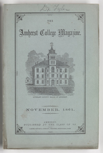 The Amherst College magazine, 1861 November