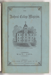 The Amherst College magazine, 1862 May