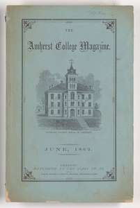 The Amherst College magazine, 1862 June