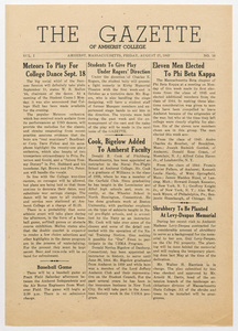 The gazette of Amherst College, 1943 August 27