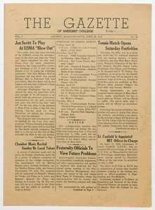 The gazette of Amherst College, 1944 April 28