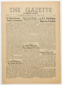 The gazette of Amherst College, 1943 August 13