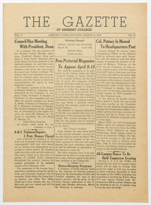 The gazette of Amherst College, 1944 March 24