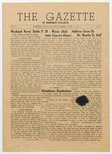 The gazette of Amherst College, 1943 July 9