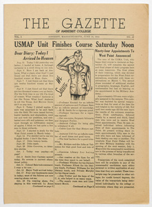 The gazette of Amherst College, 1944 June 16