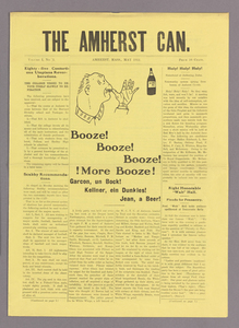 The Amherst can, 1911 May