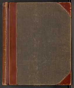 Amherst College faculty administrative records book, 1882 March 15 to 1894 December 18