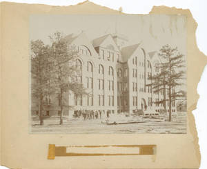 Dormitory Building Construction, c. 1896