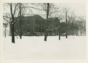 Administration Building in Winter, 1947