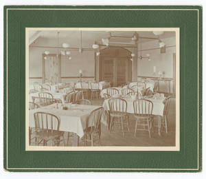 Administration Building Dining Room, 1898