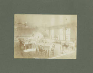Springfield College Dormitory Dining Room