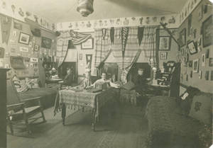 Administration Building Dorm Room, c. 1908