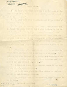 Gladden Boathouse Rules written by James H. McCurdy