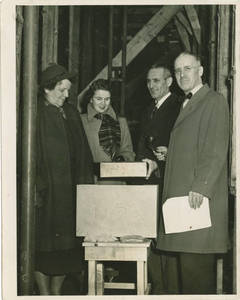 Abbey Hall Cornerstone Ceremony, 1951