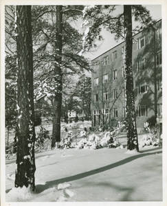 Appleton Hall in Winter