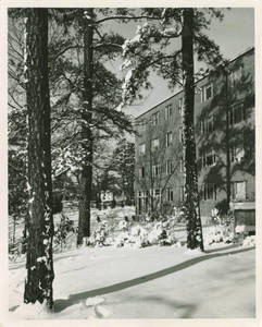 Appleton Hall Snow Scene