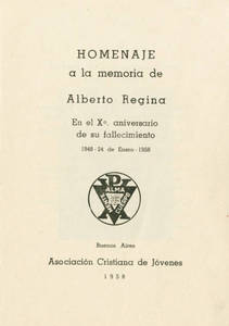 Tribute to Alberto Regina (1958)